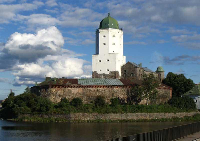 картинки выборгский замок